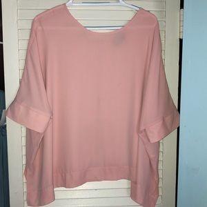 ASOS blush pink blouse nwt size 6